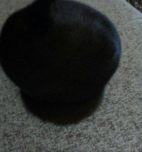 Зимняя норковая шапка