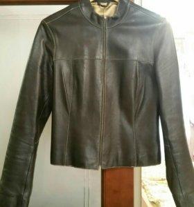 Куртка кожаная натуральная размер м
