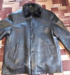 Куртка кожаная