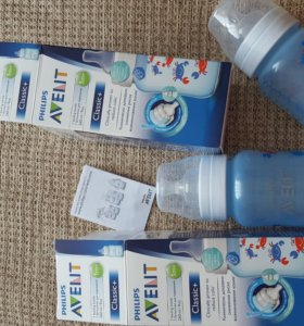 Новые бутылочки avent и пакеты для сбора молока