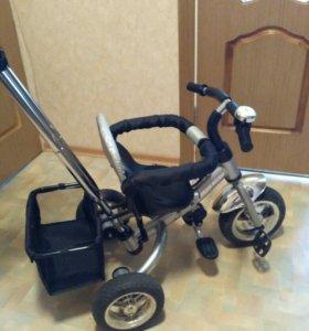 Детский велосипед Jetem Lexus Trike Next Серебро