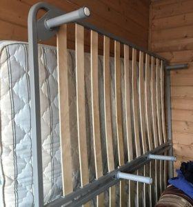 Кровать 2*2 м с матрасом