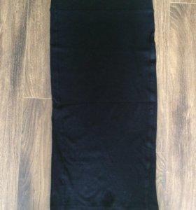 Юбка черная bershka