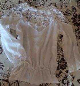 Блуза НОВАЯ 46