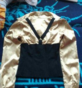 Рубашка с корсетом