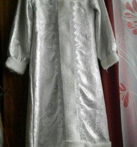 Платье Снегурочки для ребенка