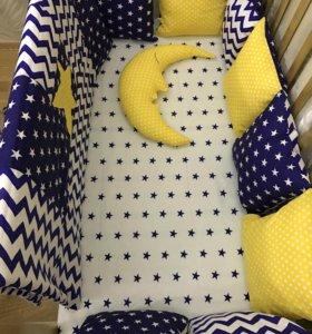 Спальный набор в детскую кроватку