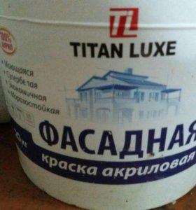 Фассадная краска титан люкс полированая 20кг ведро