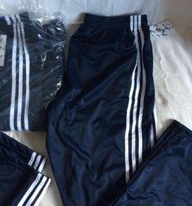 Спортивные штаны как Adidas большие размеры