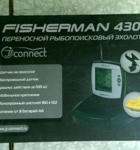 Переносной эхолот JJ-Connect Fisherman 430