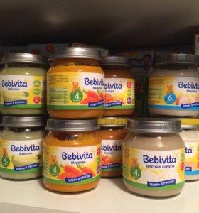 Детское питание - bebivita