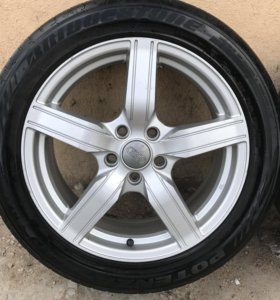 Продам колёса в сборе R-17 на AUDI A 4,A 6