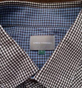 Рубашка мужская р. L новая