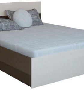 Кровать Юнонаа двуспальная и матрас.