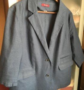 Пиджак льняной 50-52