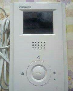 Видеодомофон цветнойCDV-35H COMMAX Б/У как новый.