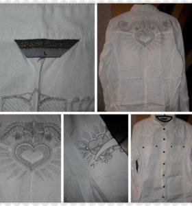 Рубашка для впускного,один раз одета,размер L