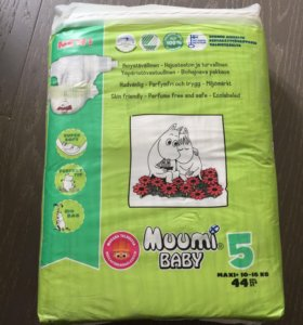 Подгузники Muumi 10-16 кг