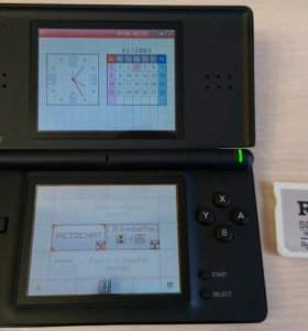 Nintendo ds lite + R4