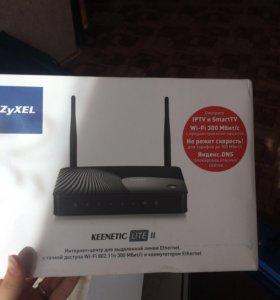 Wi-Fi роутер новый в упаковке с чеком