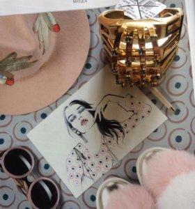 Новый роскошный браслет Chloe (оригинал)