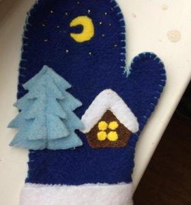 Декоративные перчатки