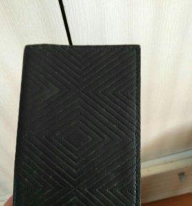 Чехол кожаный для паспорта с отсеками