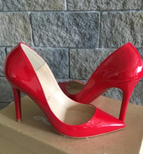 Туфли красные 37 размер