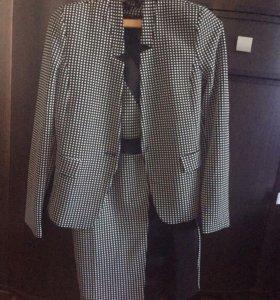 Платье + пиджак , костюм