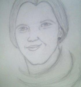 Портрет девушки
