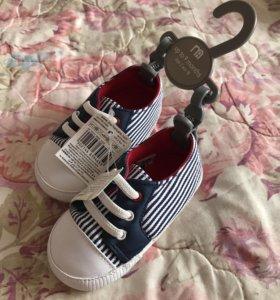 Детские ботиночки для малышей