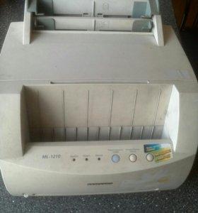 Принтер лазерный Samsung ml 1210