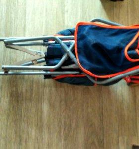 Лёгкая коляска-трость