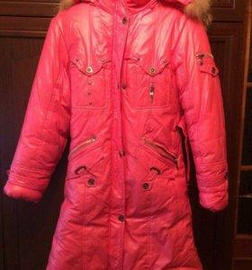 Пальто зимние не промокайка