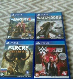4 игры для PlayStation 4