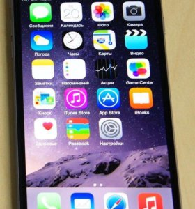 iPhone 6+ 16gb space gray