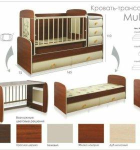 Кроватка 3 в 1