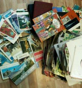 Пластинки, открытки, наборы...