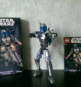 Лего Звёздные Войны Джанго Фетт Lego Star Wars