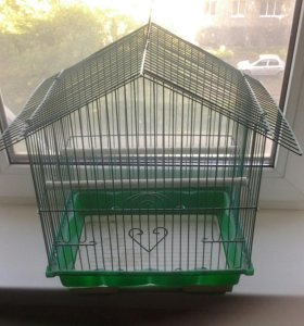 Продам клетку для попугая новая