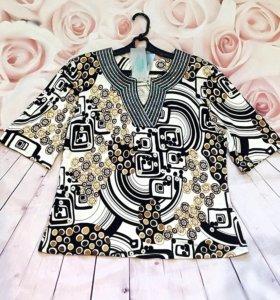 Новая блуза 50-52р.