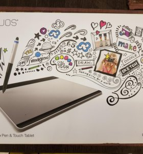 Wacom Intuos Pen&Touch Medium, Silver графический