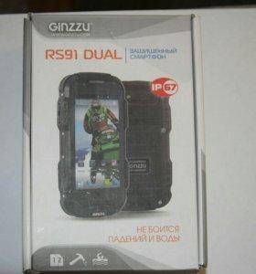 Защищенный смартфон ginzzu rs91 dual