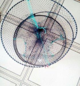 Раколовка круглая на три захода