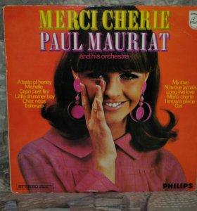 Paul Mauriat - Merci Cherie виниловая пластинка