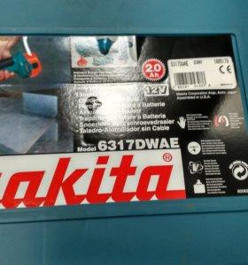 Аккумулятор от шуруповёрта makita 6317dwae