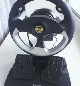 Saitek R100 USB Sports Wheel