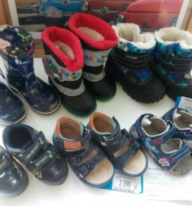Сандали,резин сапоги,зим сапоги,кроссовки от 22-25