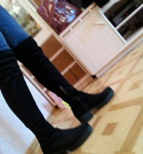 Bershka сапоги демисезон