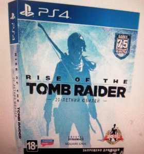 Rise of the Tomb Raider (PS4) Рус